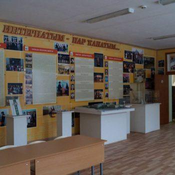 Экспозиция, посвященная истории становления и развития БРГИ №1 имени Рами Гарипова