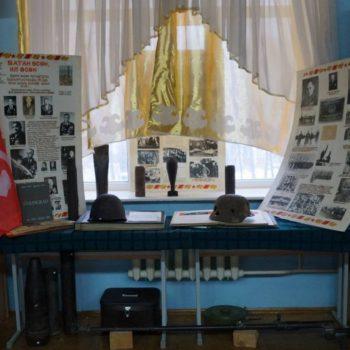 Экспозиция, посвященная участию башкир в Великой отечественной войне